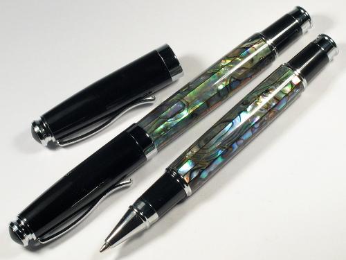 Paua-Kugelschreiber