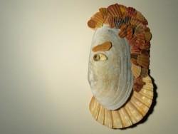 Ovale Ottermuschel 1/2 12-14cm